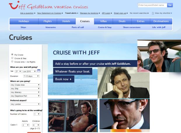 JeffGoldblumCruise